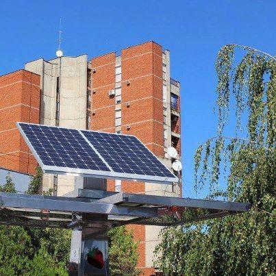 Solarni punjač ponovo u funkciji