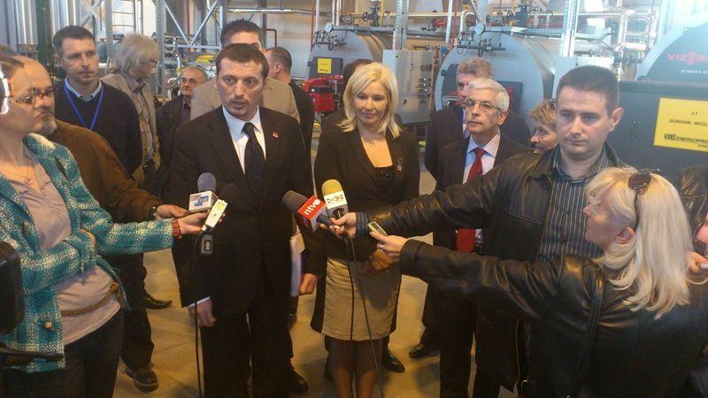 Ministarka energetike pustila u rad kotlarnicu