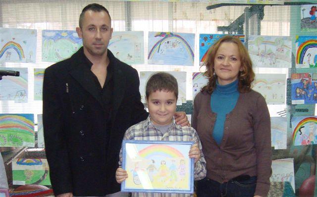 Luka Stojanović pobednik na konkursu Zajedno ispod duge