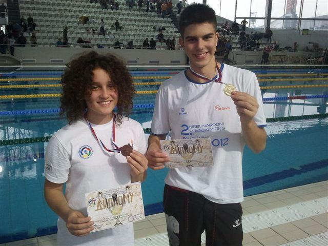 Lekić osvojio zlato na državnom prvenstvu u plivanju