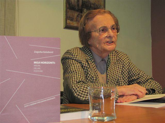 Zagorka Golubović: Sloboda se uzima