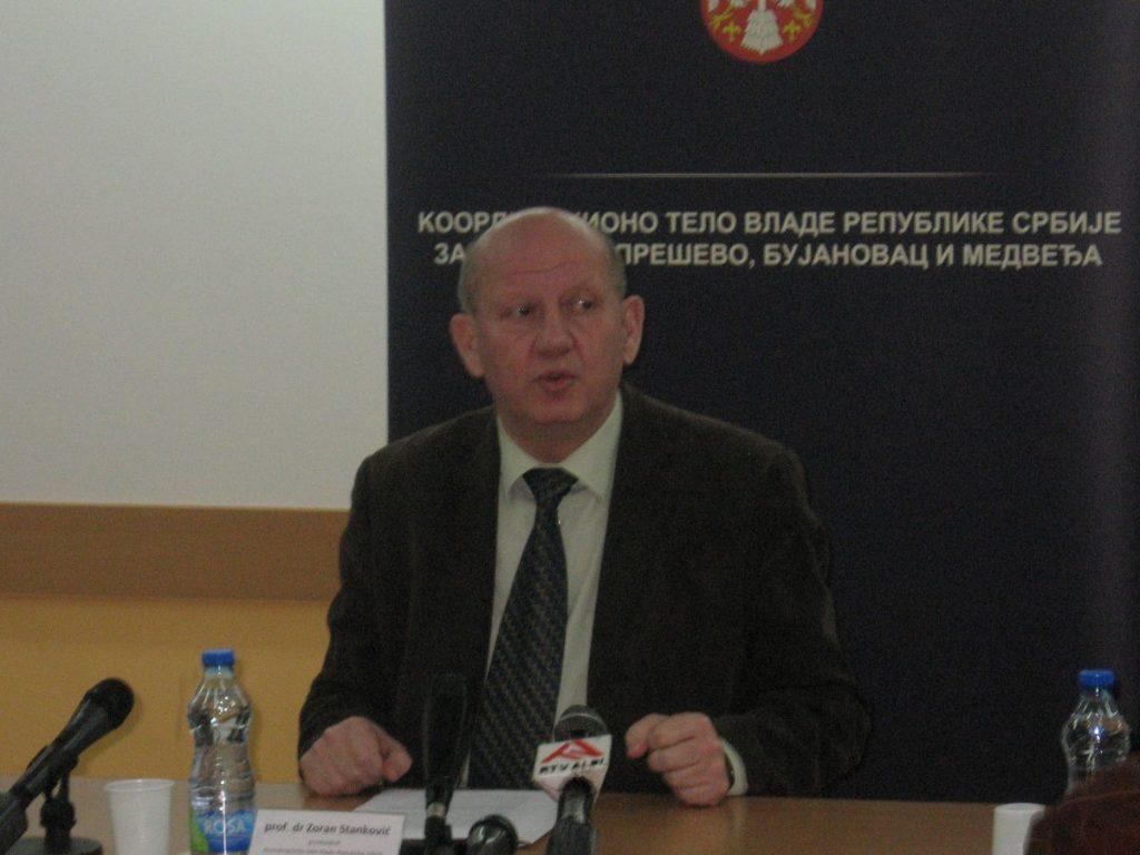 Zoran Stanković: Bez tenzije na jugu Srbije