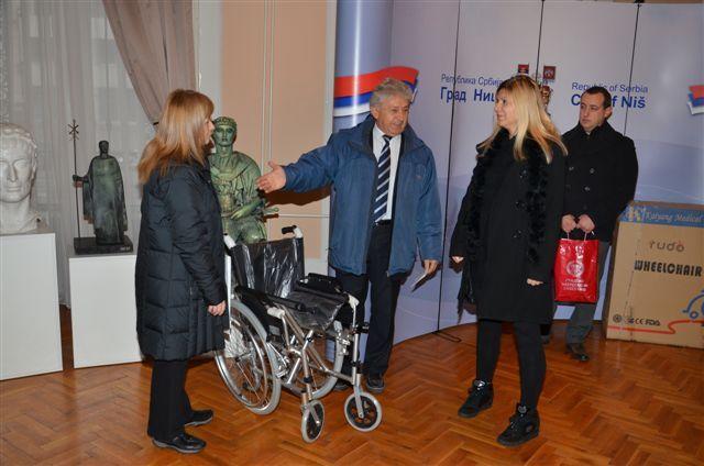 Donacija povodom Međunarodnog dana osoba sa invaliditetom