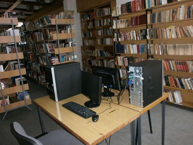 Elektronska čitaonica i COBIIS u lebanskoj biblioteci
