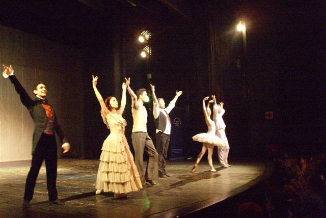 Baletski spektakl u Pirotu