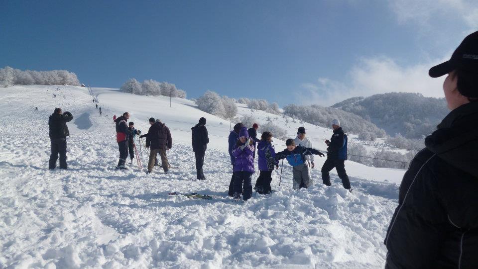 Počela sa radom prva škola skijanja na Besnoj Kobili