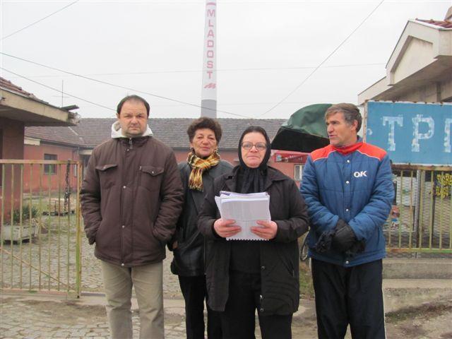 Protest manjinskih akcionara Trgocentra