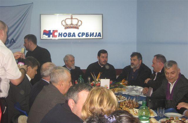 Na slavi Nove Srbije vrh gradskih vlasti