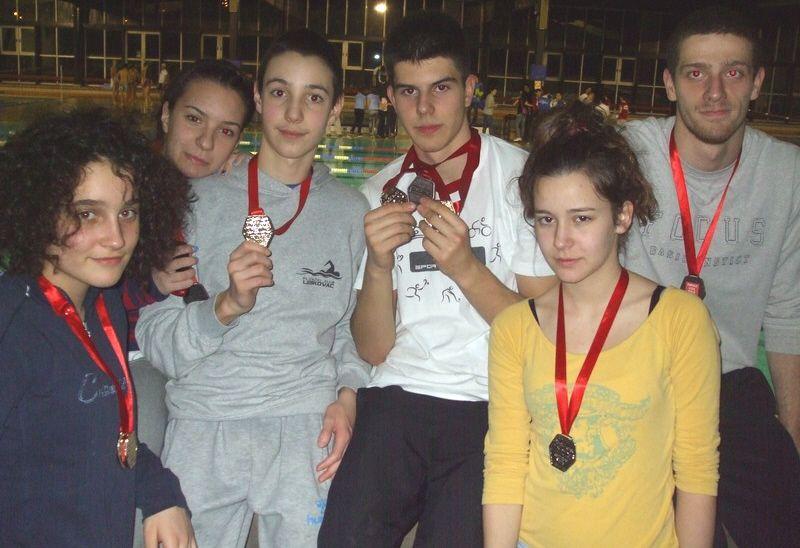 Leskovački plivači u Kruševcu osvojili pet zlatnih medalja
