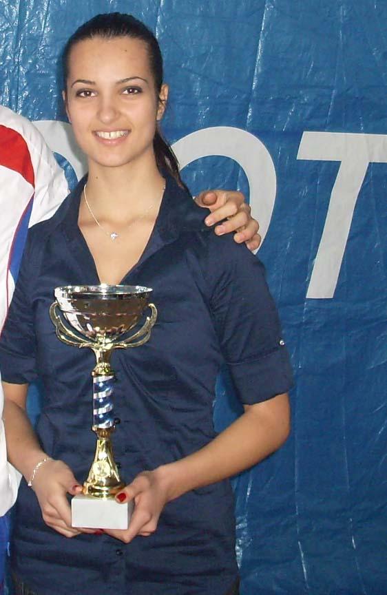 Pozlatila se Tiha Todorović