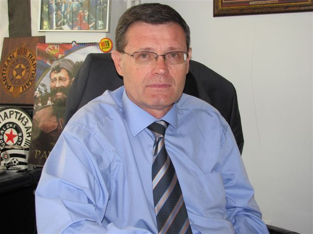 Povređen Bane Jovanović u saobraćajki