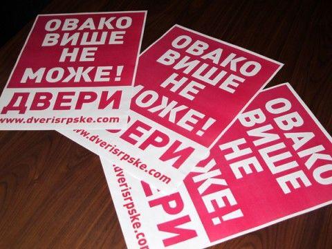 Pokret Dveri poziva na protest 6.aprila