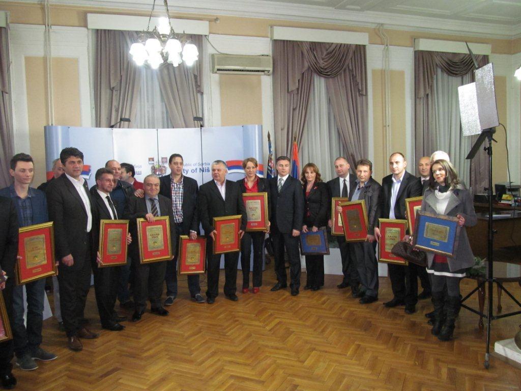 Godišnje nagrade privrednika i klastera