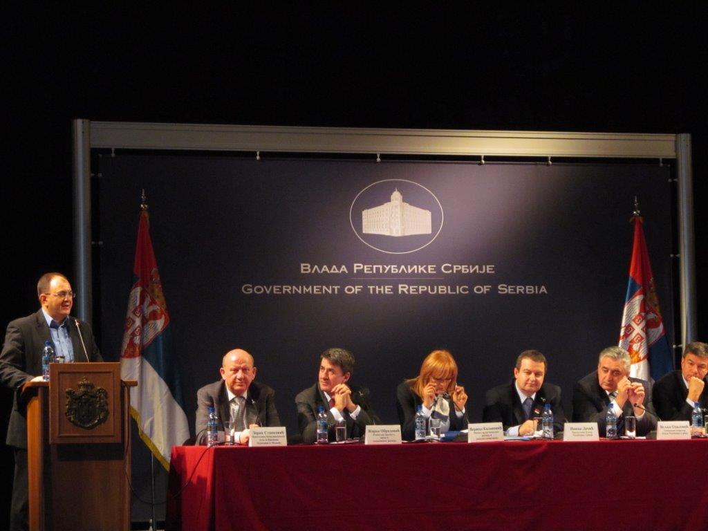 Dačić:Hoćemo da razvijamo jug Srbije