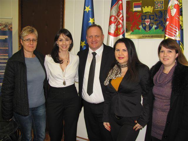 Sloboda Mićalović kao ambasador UNESKO-a u Leskovcu