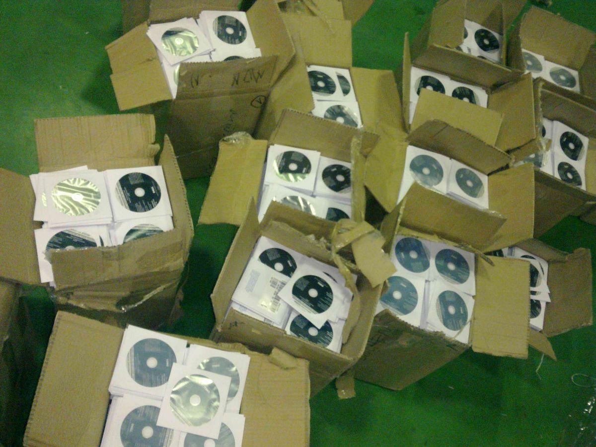 Zaplenjeni diskovi vredni  600.000 evra