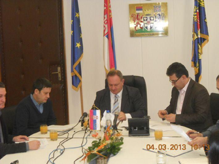 Početak realizacije projekta za čistiji vazduh u Leskovcu