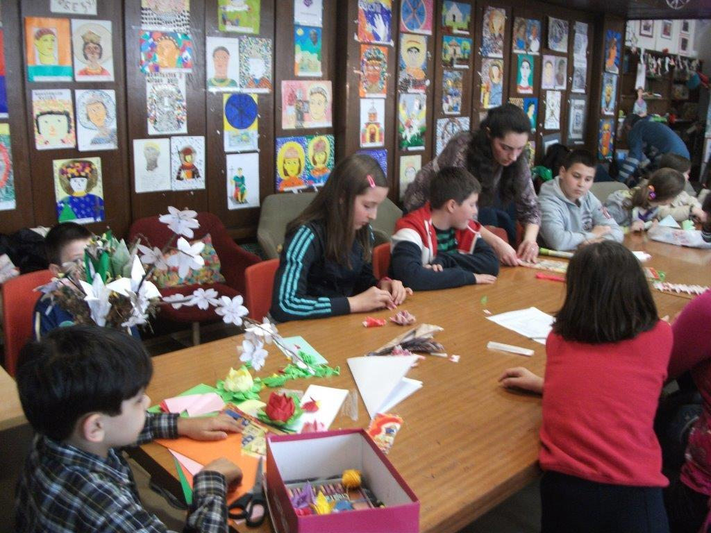 Radionica o origami umetnosti