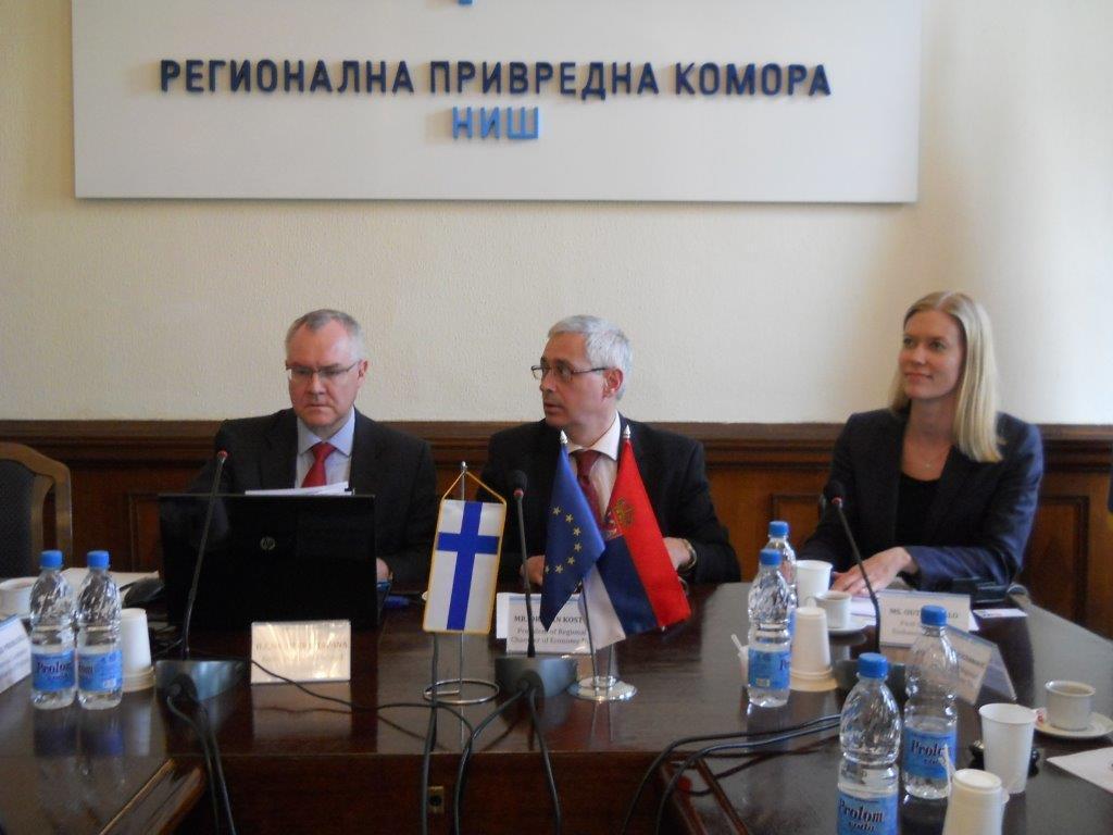 Finske kompanije hoće da investiraju na jugu Srbije