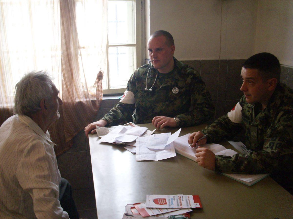 Akcija ''Vojska na selu'' u Zavidincu