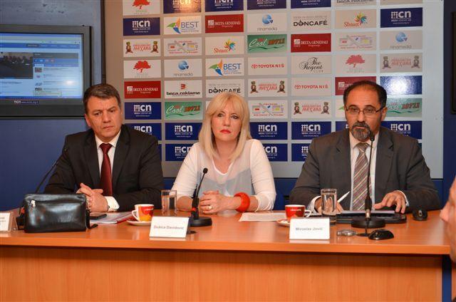 Dinić i Davidovićeva osnivaju Koaliciju za Niš