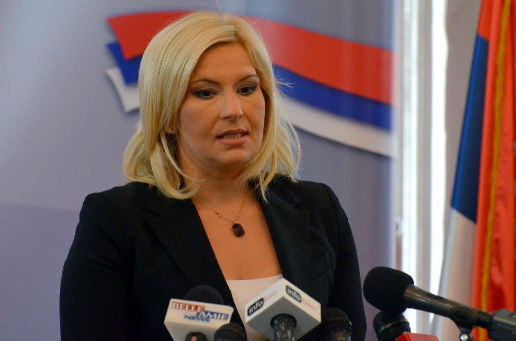 Zorana Mihajlović sutra razgovara sa građanima Leskovca
