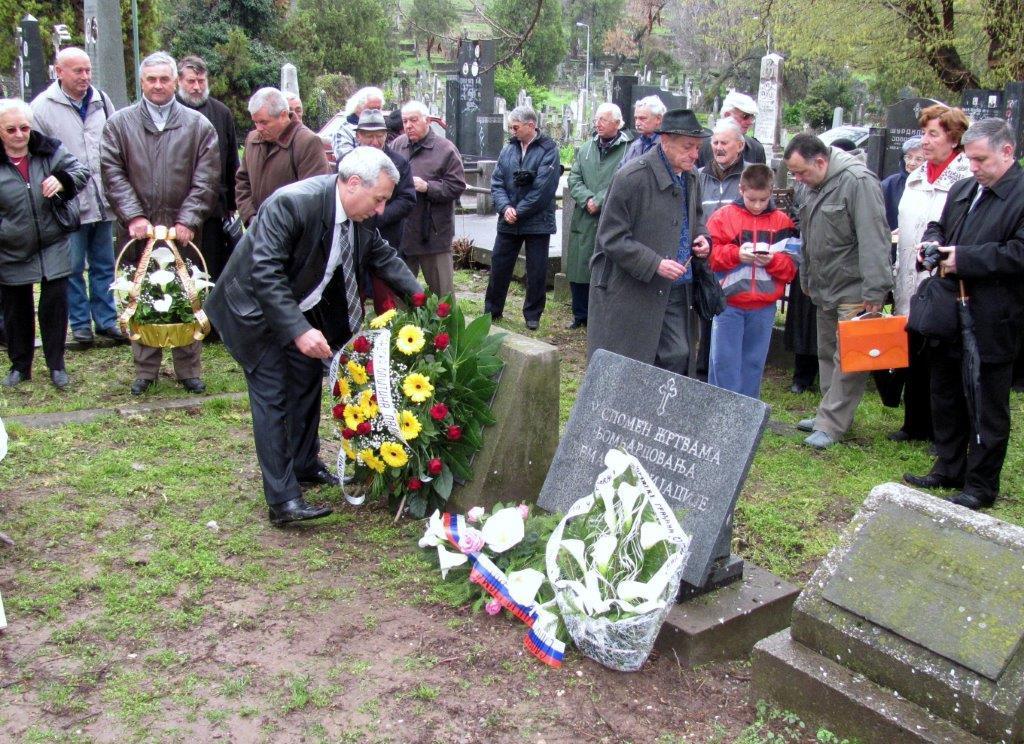 Pomen žrtvama bombardovanja aprila 1941.godine
