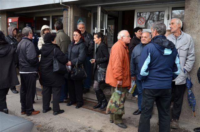 Protest radnika propalih niških firmi