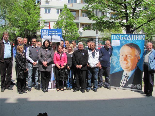 SRS na izborima u 38 mesnih zajednica