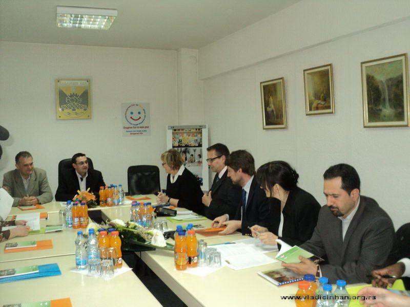 Visoka delegacija UNICEF-a u Vladičinom Hanu