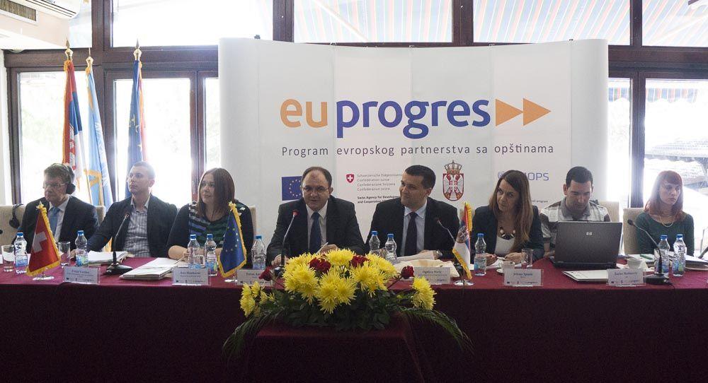 PROGRES pomaže klastere na jugu Srbije