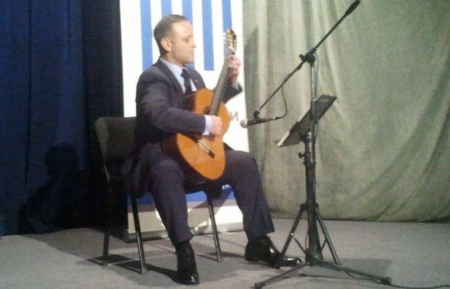 Koncert gitariste Zorana Anića u Leskovcu