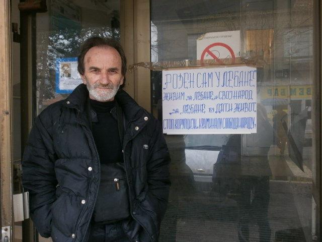 Miki Frizer štrajkuje glađu