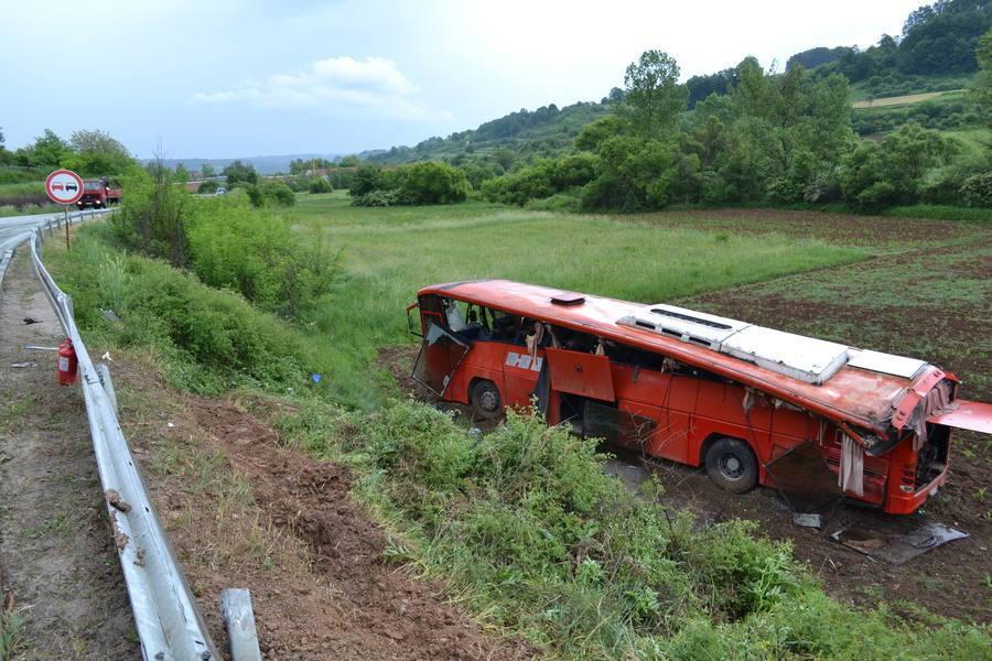 Teška saobraćajna nesreća kod Bosilegrada