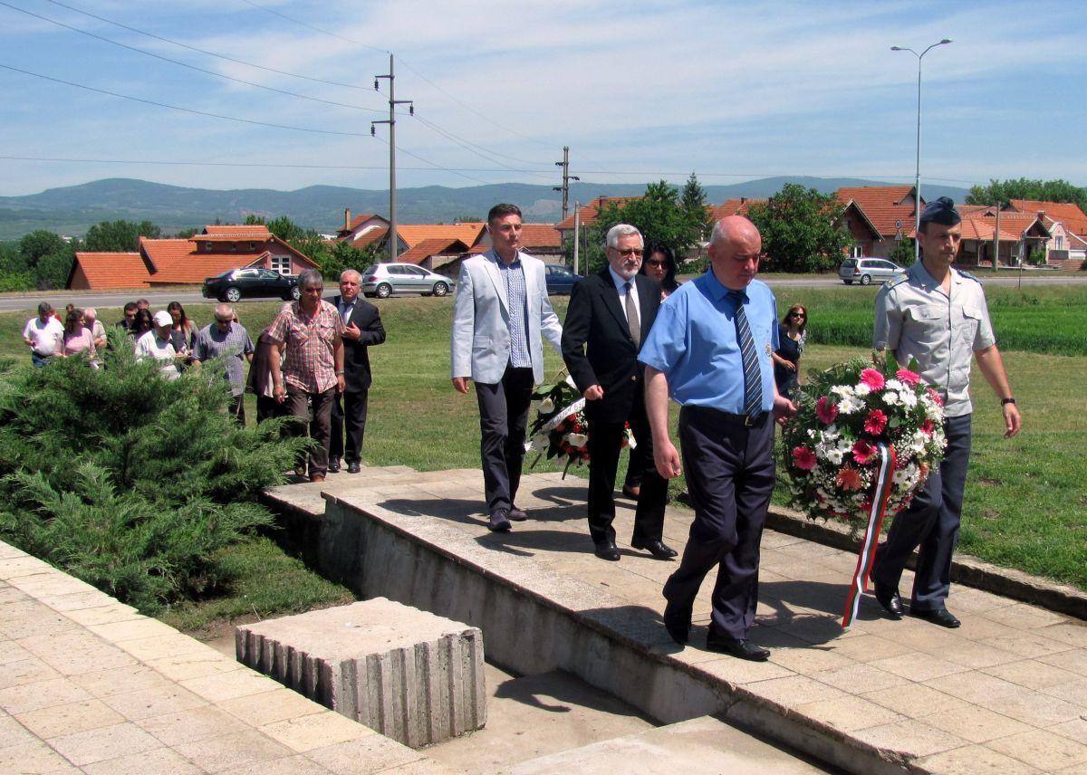 Odata počast bugarskim vojnicima