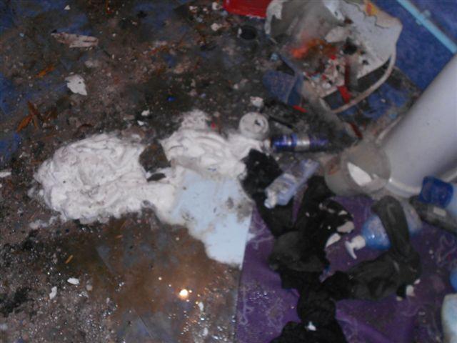 U kupatilu eksplodirala protivgradna raketa