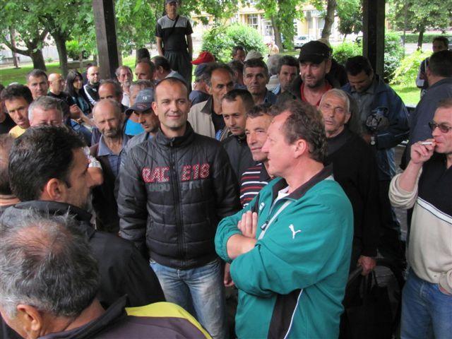 Protestovali učesnici rata na Kosovu