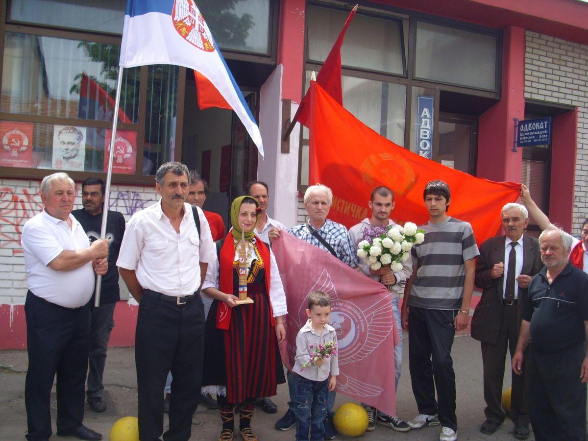 """Štafeta """"Bratstvo i jedinstvo"""" posle 25 godina ponovo u Pirotu"""