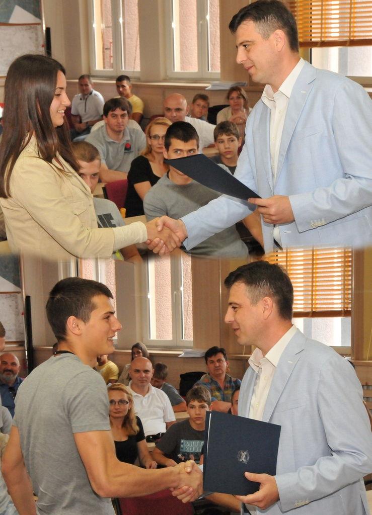 Stipendije za sportiste i trenere