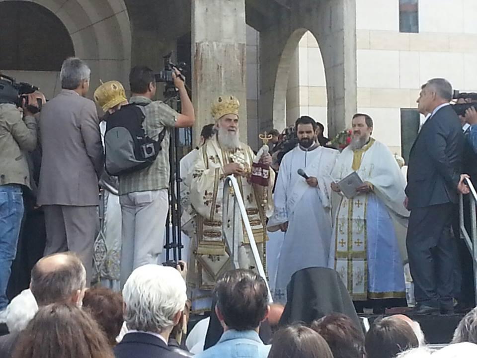 Liturgija i osveštanje crkve za gradsku slavu