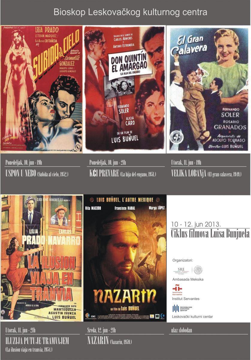 Ciklus filmova Luisa Bunjuela u leskovačkom bioskopu
