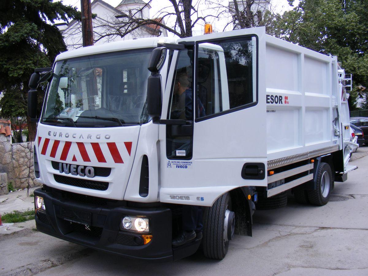 Komunalci u Kuršumliji dobili novi smećar
