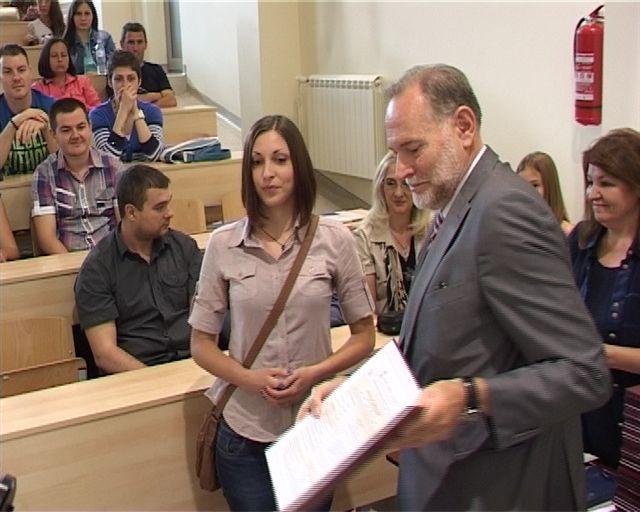 Najbolji student Dušica Stojanović
