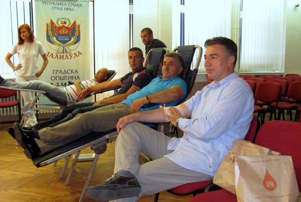 Džunić i Slavković dali krv