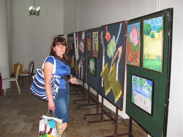 Izložba radova slabovidih i prodajna