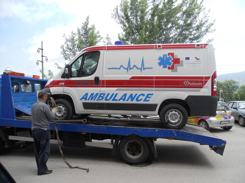 Babušnica dobila novo medicinsko vozilo