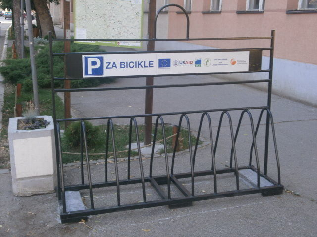 Besplatna parking mesta za bicikle