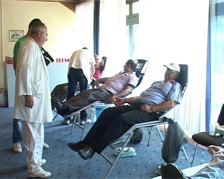 Železničari dali krv