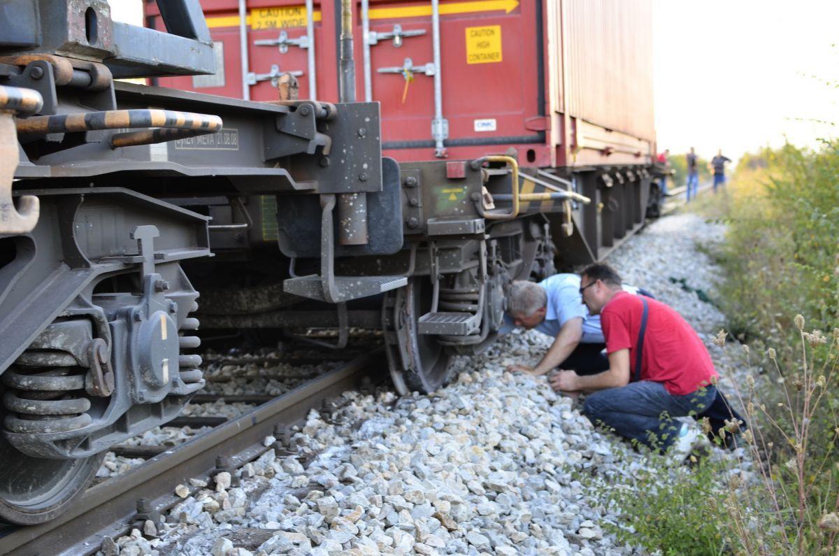 Iskliznuo teretni voz