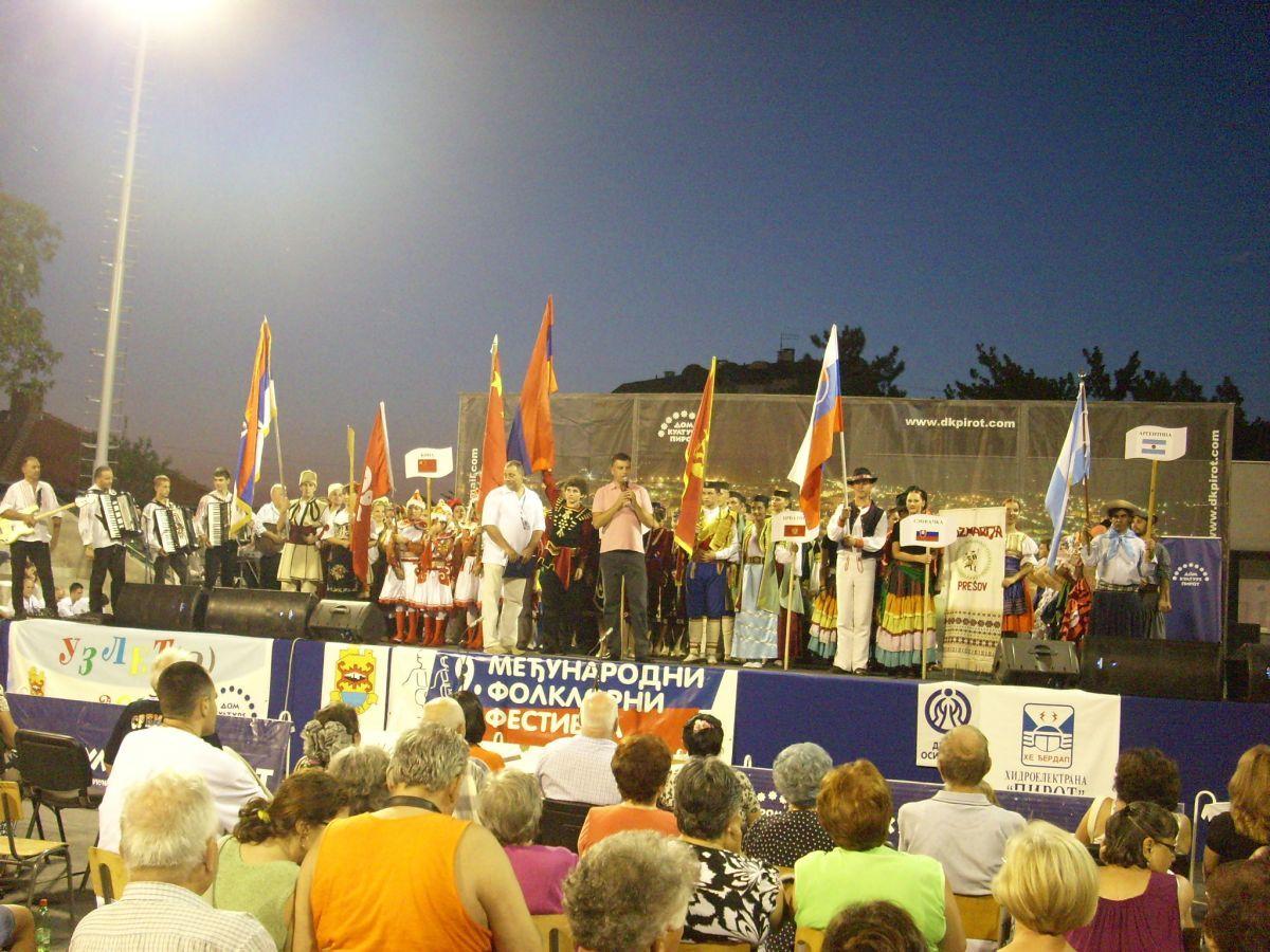 Vasić primio učesnike Festivala folklora